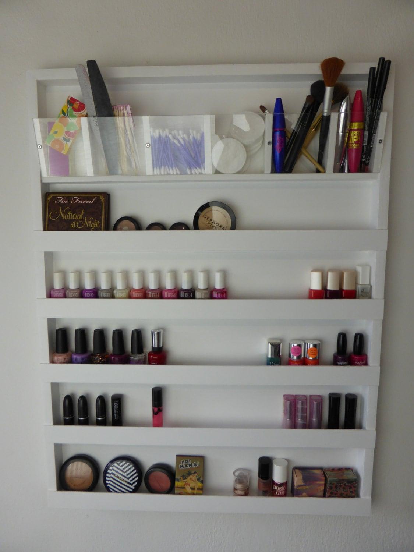Large Makeup Organizer Bathroom Storage Nail Polish Rack