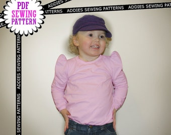 Top Stilig -  Sewing Pattern - 5 sizes - 2 to 6 years - PDF - Instant download