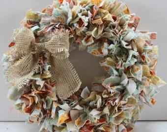 Rag Wreath Joel Dewberry Heirloom Design - Ready to Ship