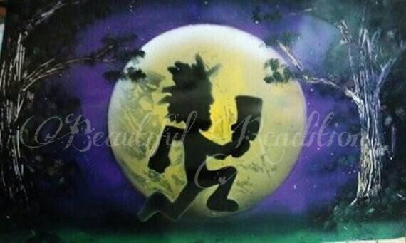Hatchet Man Spray Paint Art ICP Gift Idea
