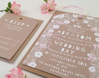 fairytale wedding invitations | etsy, Wedding invitations