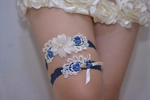 Liga novia azul marino set ligas de novia fuera de juego de for Fuera de tu liga