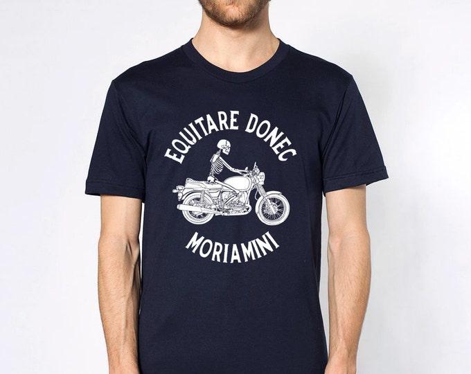 KillerBeeMoto: Latin Translation Ride Until You Die Motorcycle Short & Long Sleeve Motorcycle Shirts