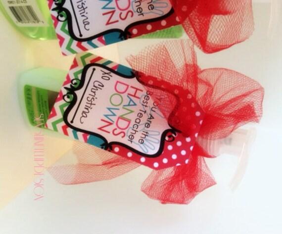 Printable Teacher Appreciation Soap Gift Tags Printable
