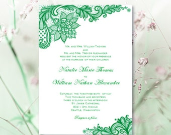 irish wedding invitations   etsy, Wedding invitations