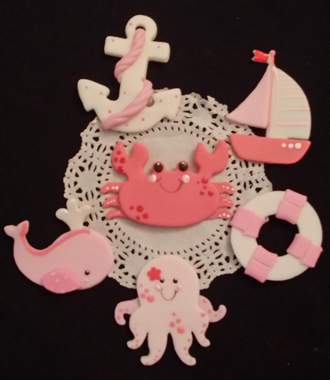 Nautical Girl Baby Shower Nautical Birthday Under The Sea Party