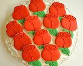 Rose Bouquet Sugar Cookie...