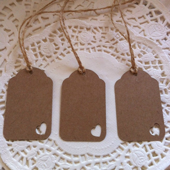 50 Farmhouse Style Gift Ideas From Etsy: Items Similar To 50 Handmade Vintage Style Gift Tags