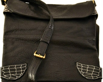 Wings Convertible Messenger - Clutch Leather Limited Edition