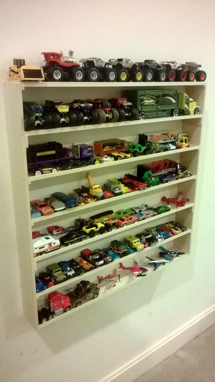 Toy Cars Holder Shelf : Hot wheels matchbox cars monster trucks legos planes by