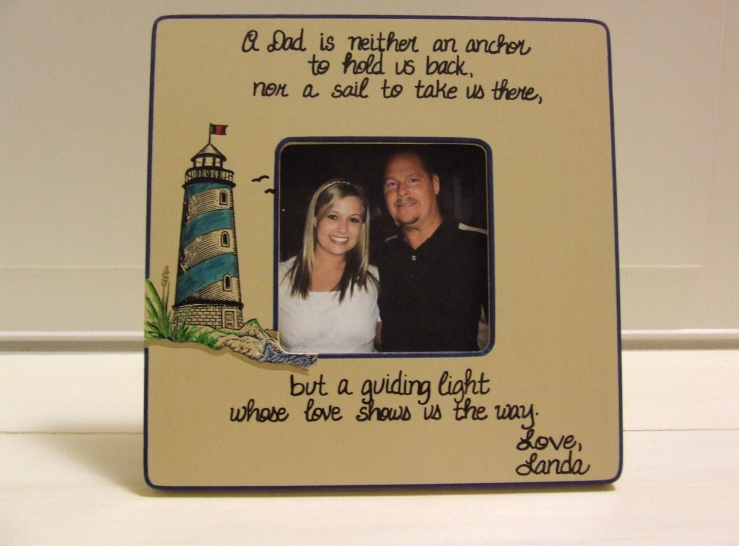 Father 39 S Day Gifts Gift Lighthouse Nautical Frame