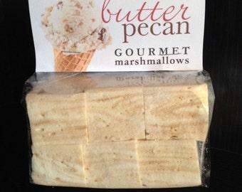 Fresh Gourmet Artisan Butter Pecan Marshmallows **Gluten Free**