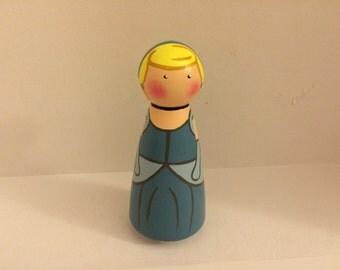 Cinderella Peg Doll