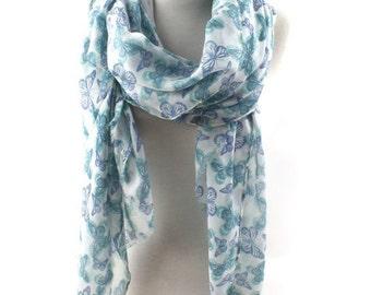 Warming scarf,The butterfly widened ,BaLiSha scarf shawl