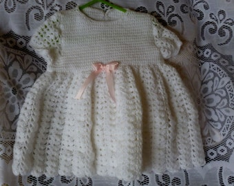 White Lacey Dress for Birthday/Baptism/Christening