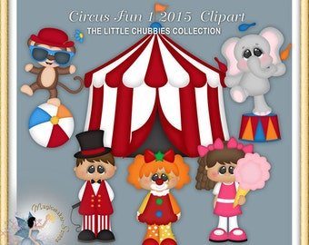 Circus Fun Clipart 1 2015, Chubbies