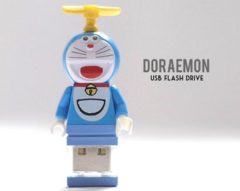 Doraemon USB Flash drive 8GB Custom..hand crafted