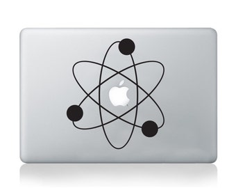 Macbook Vinyl Sticker Decal Atom Science Sticker Macbook Pro Cover Macbook Air Skin Science Sticker Laptop Notebook Asus Thinkpad Lenovo