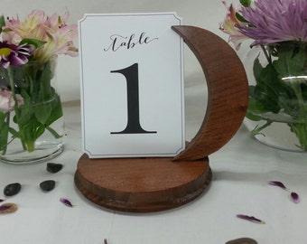 Moon Table Card Holder, Wedding Table, Reception Table, Place Card Holder, Wedding