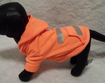 Dog Hoodie, Dog Hooded Sweatshirt,Reflective Dog Hoodie, Dog Clothing, Dog Apparel,Personalized Pet Clothing