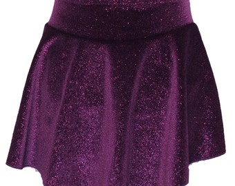 Figure Skating Skirt Adult Small with Hair Scrunchie