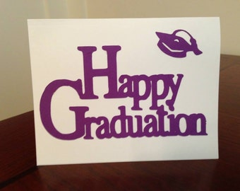 Set of 5 Happy Graduation cards with envelopes