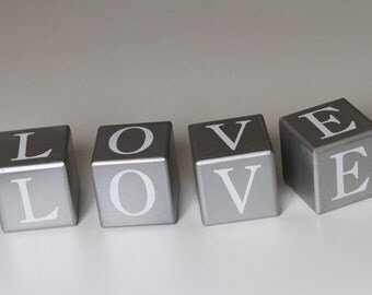 Square with the word Love - Props for photography