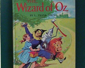 The Wizard of Oz by L. Frank Baum. Illustrated by Claudine Nankivel. Hardcover Grosset & Dunlap 1972