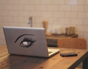 Macbook Sticker Eye