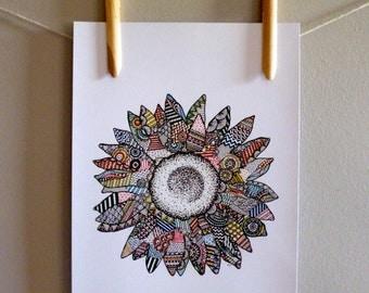 Sunflower 'Hundreds and Thousands' Print