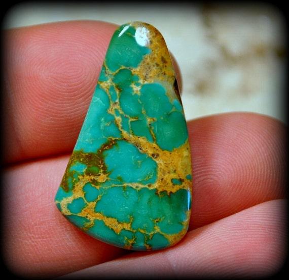 Sale royston ribbon boulder turquoise gem cabochon 30 for Royston ribbon turquoise jewelry