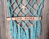 Live Aloha Wall Hanging