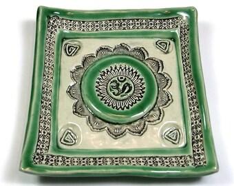 Beautiful Zen Ohm Ceramic Plate