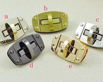 purse twist-locks Purse Flip Locks.2 Pcs