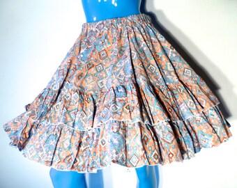 Vintage Handmade Circular Skirts