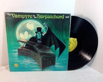 The Vampyre At The Harpsichord vinyl record RARE Halloween EX