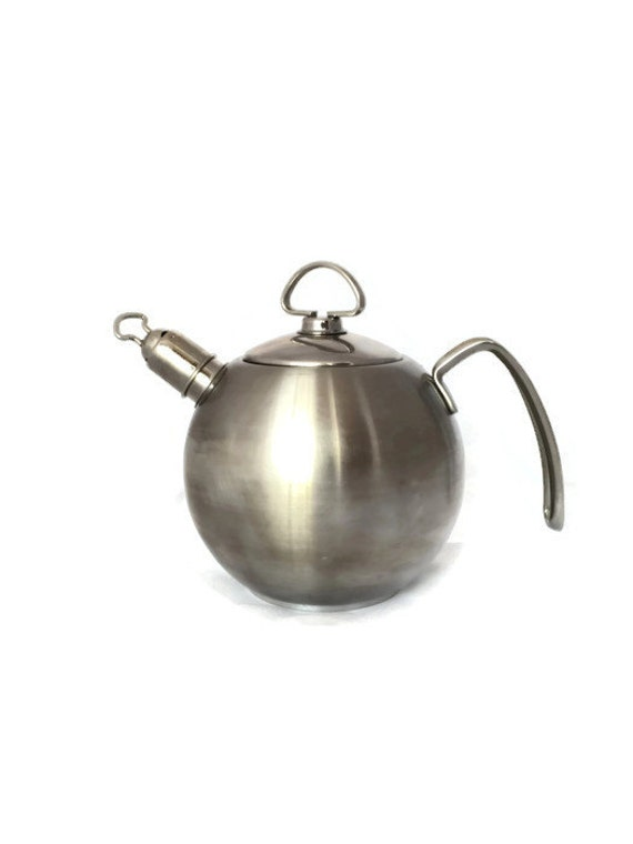 Rare metal tea kettle vintage chantal stainless steel - Chantal teapots ...