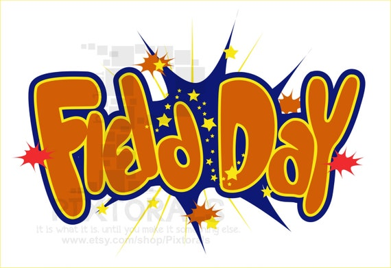 Items similar to Field Day Vector! Kids Clipart, Comic ...
