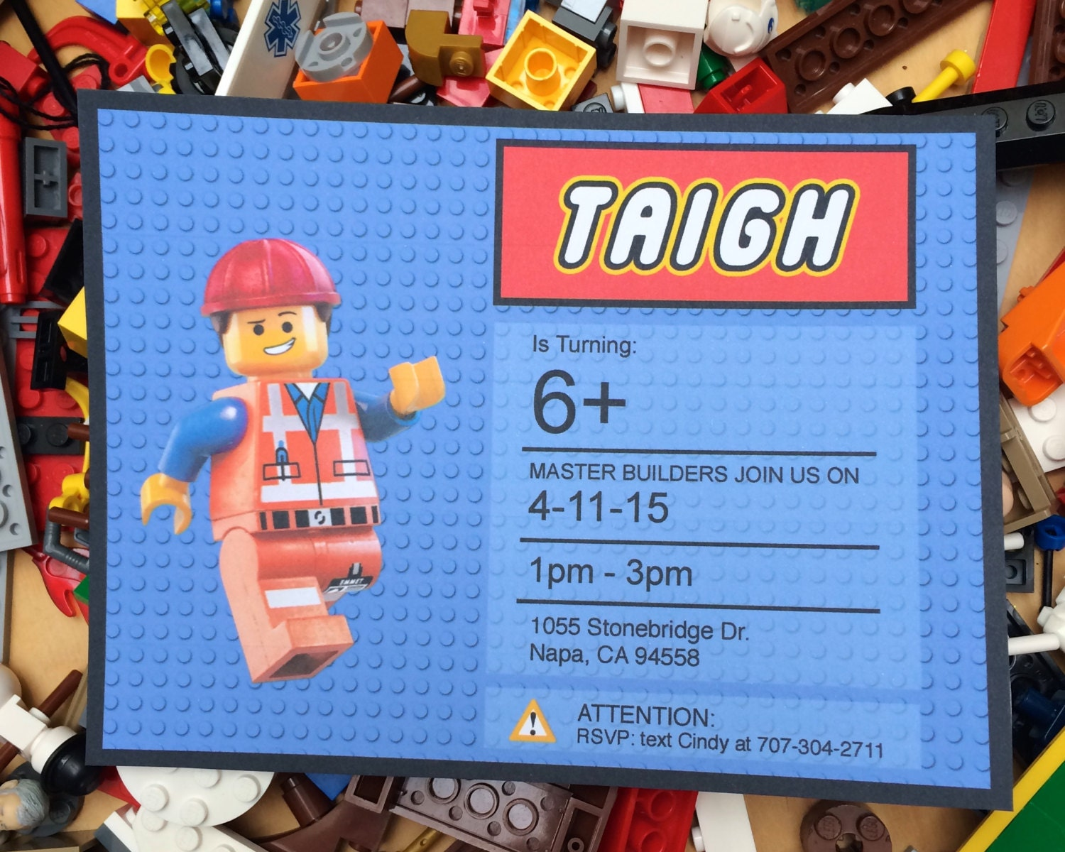 Lego Friends Invitation for great invitation layout