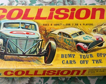 COLLISION! 1969 Board game