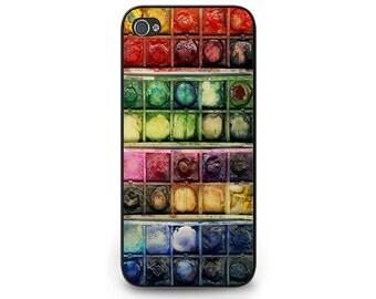Watercolor Set Phone Case - Watercolor Paint Pots iPhone 6 Phone Case - Watercolor Paint Box iPhone 5s Case - Watercolor set iphone 5c Case