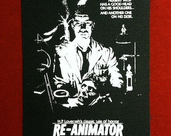 Re-Animator Cloth Punk Patch