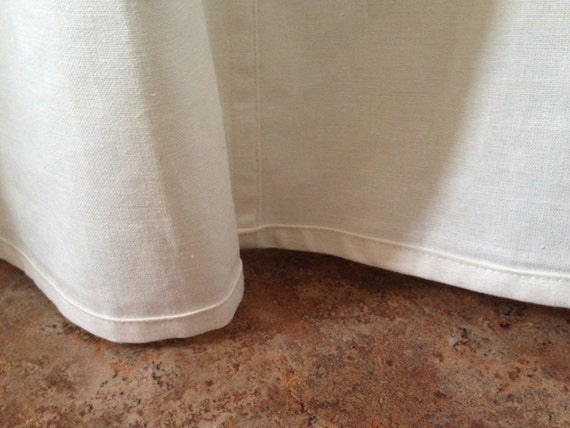 hemp organic cotton shower curtain for tub by cedarsandsage