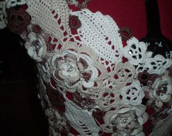 """Women's knitted blouse """"Irish lace"""""""