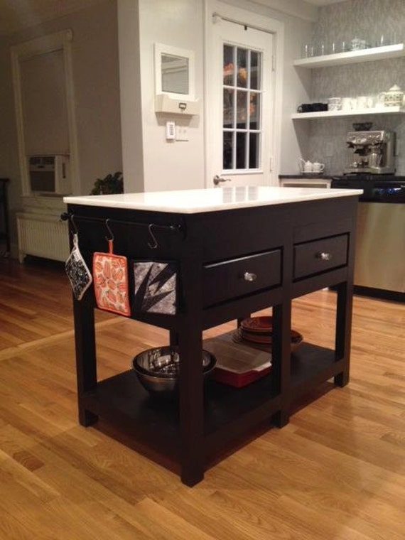 Handmade Kitchen Islands: Items Similar To Custom Kitchen Island On Etsy