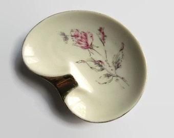 Vintage white ashtray - Royal Bavaria ashtray - porcelain ashtray - white ashtray -  vintage porcelain ashtray - 1960s ashtray -  ashtray