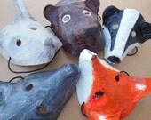 Kids animal mask