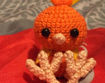 MADE TO ORDER: Torchic keychain