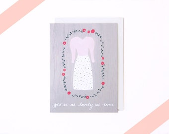 You're as lovely as ever Card (Pink)
