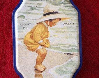 Good Housekeeping Tin - Summer - Seasons Tin - Vintage Tin - 1980s